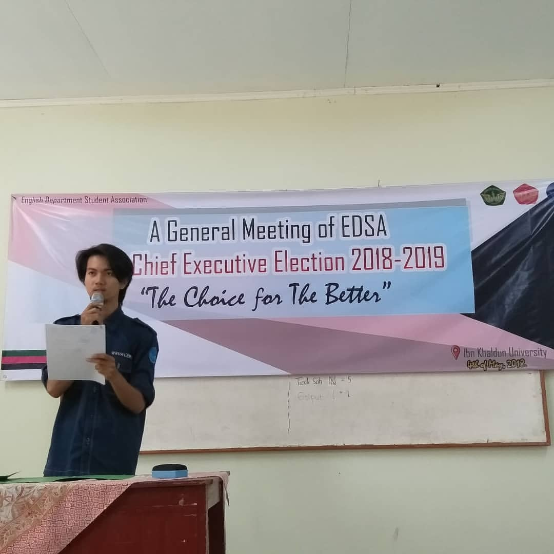 A general meeting of EDSA The chief executive election 2018-2019