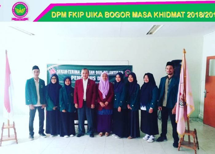 Pelantikan DPM FKIP UIKA BOGOR periode 2018-2019.