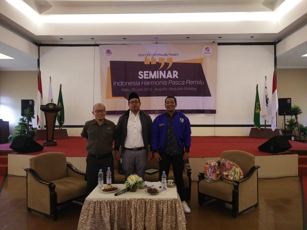 Seminar Harmonisasi Pasca Pemilu