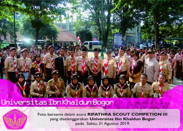 487 Insan Pramuka Unjuk Gigi Di Rifathra Scount Competition III UIKA Se-Bogor