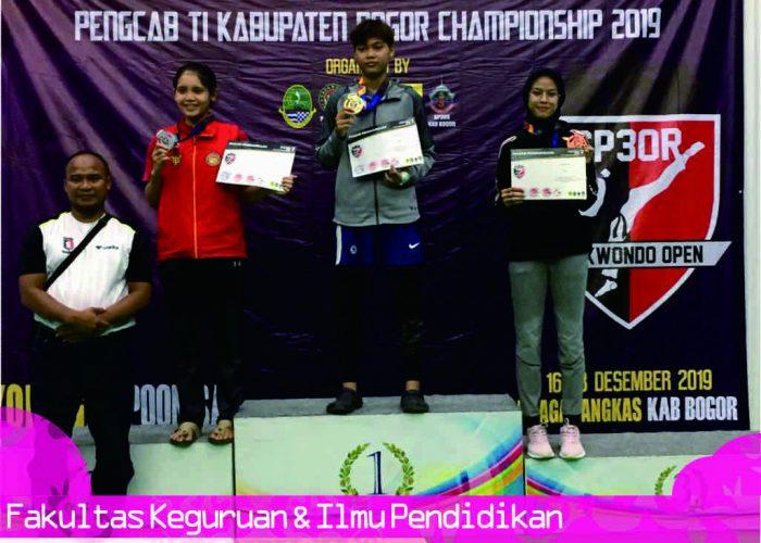 Salsabila Adrisdityas Candra Rifani, Juara 3 Kyourugi Under – 53 Senior Putri Kejuaraan Taekwondo SP3OR Open